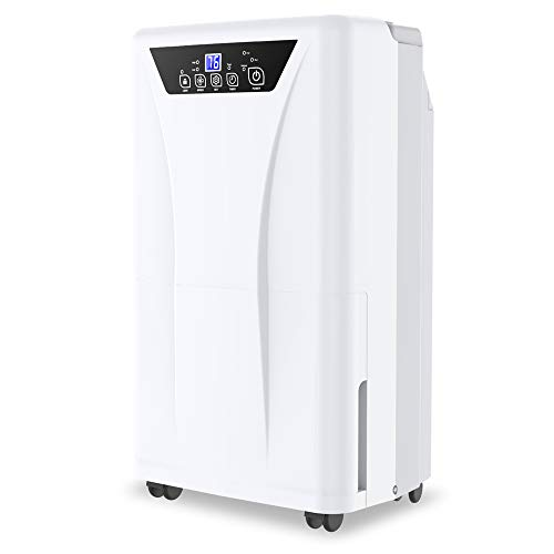 Kesnos 2500 Sq. Ft Dehumidifier for Home and...
