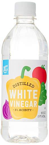 Amazon Brand - Happy Belly White Distilled Vinegar, Kosher, 16 Fl Oz (Packaging May Vary)