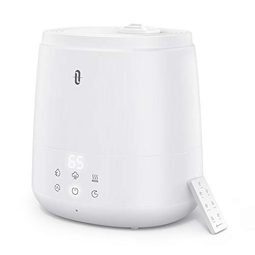TaoTronics Humidifiers for Bedroom (6L), Warm and Cool Mist Humidifiers For Home (Top Fill...