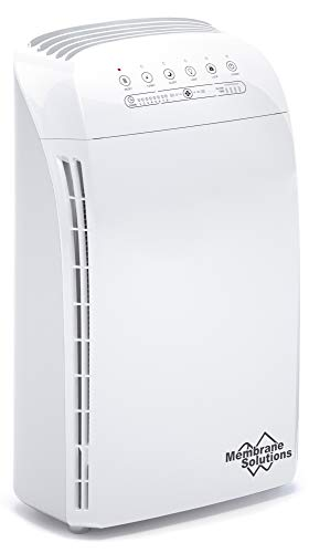 MSA3 Air Purifier for Home Large Room and Bedroom with True HEPA Filter, 100% Ozone Free Air...