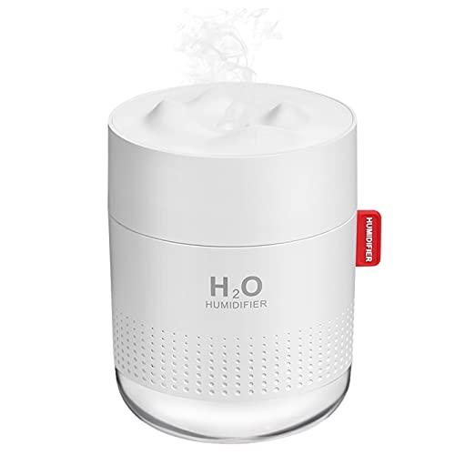 Portable Mini Humidifier, 500ml Small Cool Mist...