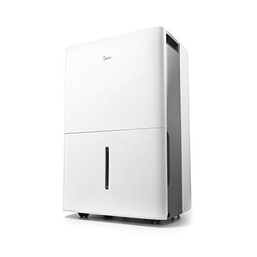 MIDEA MAD35C1ZWS Dehumidifier for up to 3000 Sq Ft with Reusable Air Filter, Ideal for...