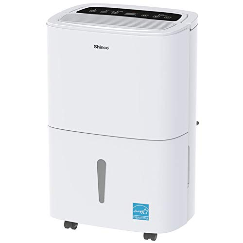 Shinco 3,000 Sq.Ft Energy Star Dehumidifier, Ideal for Medium Living Room, Basements, Bedrooms,...