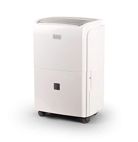 BLACK+DECKER BDT50WTB Dehumidifier, 50 Pints, White