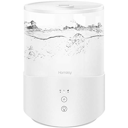 Homasy Cool Mist Humidifier Diffuser, 2.5L...