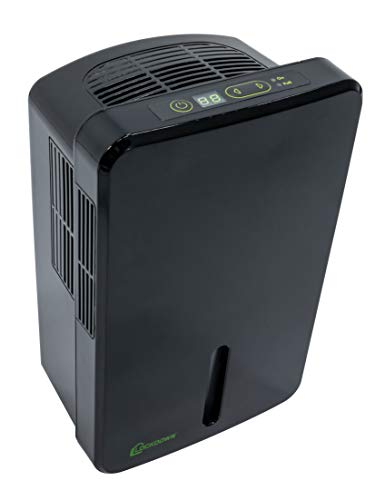 LOCKDOWN Automatic Dehumidifier with Quiet Operation, Drain Hose and Self Monitoring Controls...