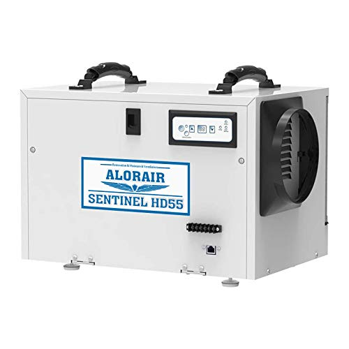 ALORAIR Basement/Crawl Space Dehumidifiers Removal 120PPD (Saturation), 55 Pint Commercial...