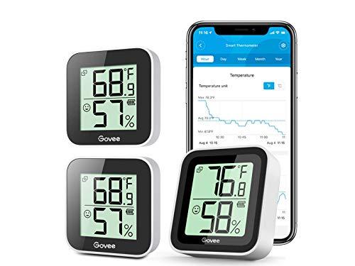 Bundle-3 Items: Govee Temperature Humidity Sensor...
