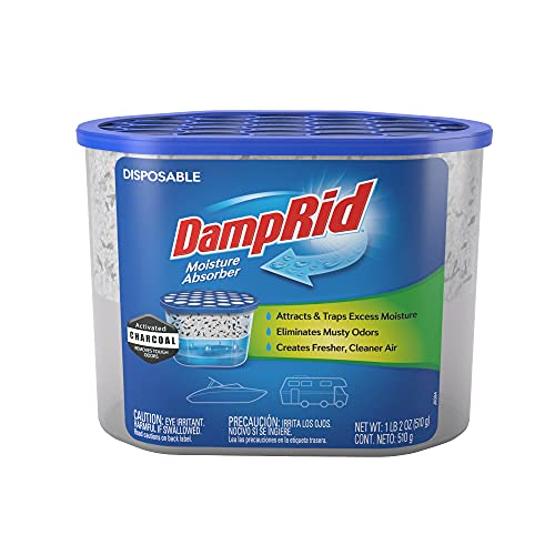 DampRid Fragrance Free Disposable Moisture...