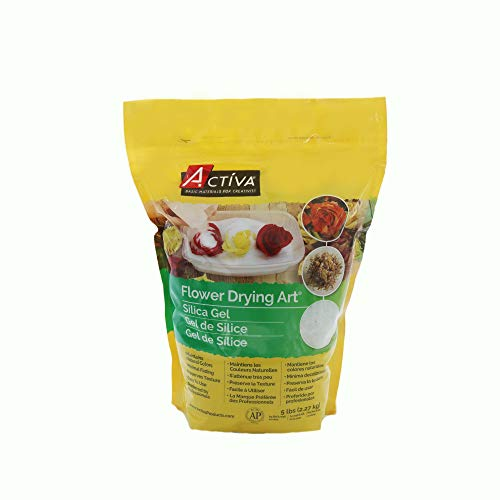 ACTIVA Silica Gel for Flower Drying 5 Pound