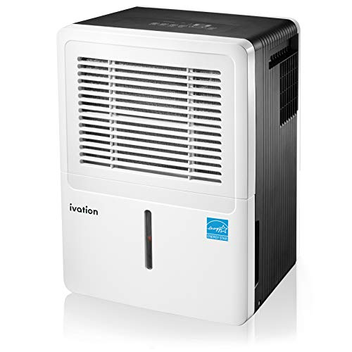 Ivation 3,000 Sq Ft Energy Star Dehumidifier - Large-Capacity - Includes Programmable...