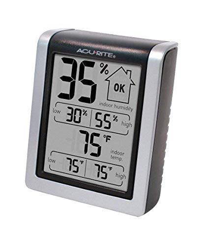 AcuRite 00613 Digital Hygrometer & Indoor...