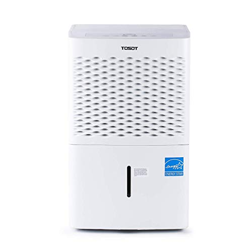 TOSOT 4,500 Sq Ft Dehumidifier with Internal Pump for Home, Basement, Bedroom or Bathroom, Super Quiet, 50 Pint-2019 DOE (Previous 70 Pint)