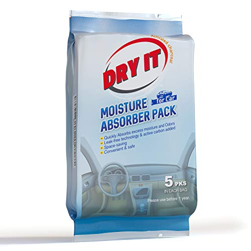 Dry It Activated Charcoal Car Deodorizer & Odor...