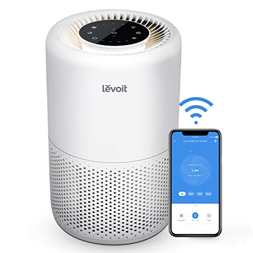 LEVOIT Smart WiFi Air Purifier for Home, Alexa Enabled H13 True HEPA Filter for Allergies,...