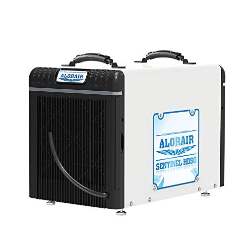 ALORAIR Basement/Crawl Space Dehumidifiers 198 PPD (Saturation), 90 PPD (AHAM), 5 Years Warranty, HGV Defrosting System, cETL, up to 2,600 Sq. Ft, Remote Control (optional)