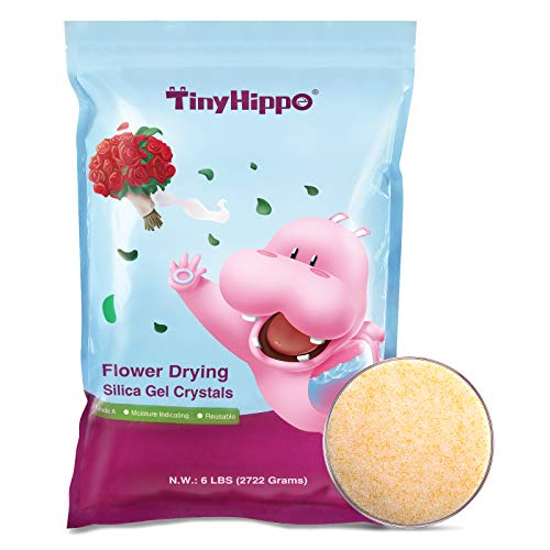TinyHippo [6 LBS] Silica Gel Flower Drying...