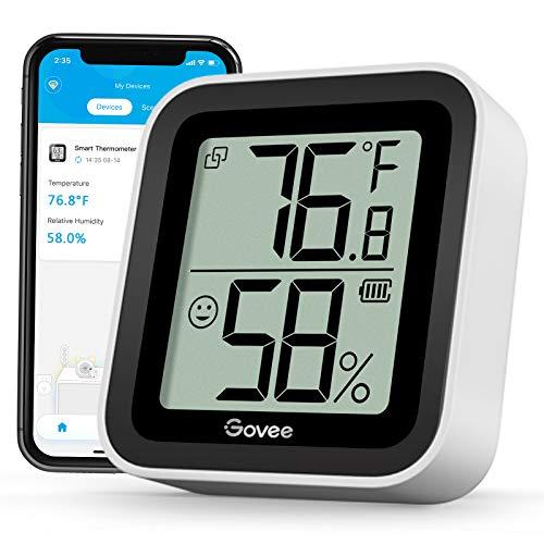 Govee Bluetooth Hygrometer Thermometer, Indoor...