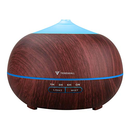 Essential Oil Diffuser, 400ml Aromatherapy Air...