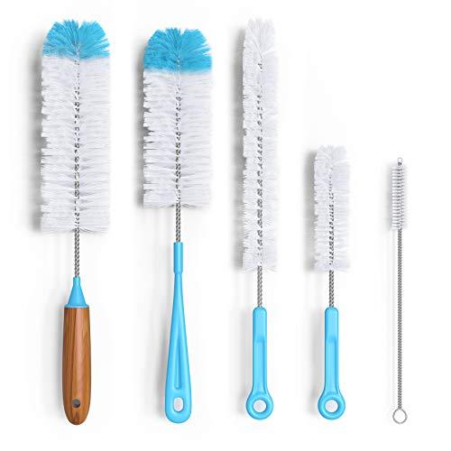 Turbo Microfiber Bottle Brush Cleaner Pack - Set...