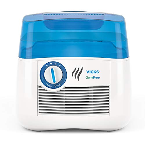 Vicks V3900 Germ Free Cool Mist Humidifier Cool Mist Humidifier to Help Relieve Cold and Flu...
