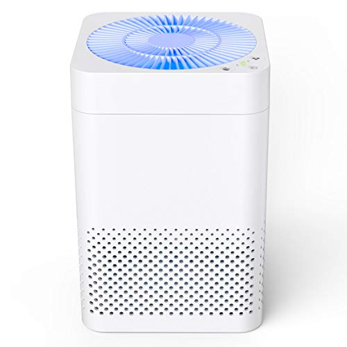 TRUSTECH Air Purifier for home,215 ft², Remove 99.97% Allergens Smoke Pollen Pets Hair, 25dB...