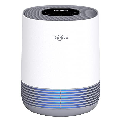 isinlive Air Purifier for Home H13 HEPA Air...