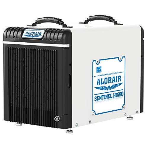 ALORAIR Basement/Crawlspace Dehumidifiers 198 PPD (Saturation), 90 Pints (AHAM), 5 Years...