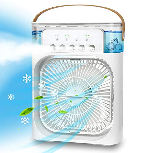 AuLink Personal Air Cooler USB Desk Fan...