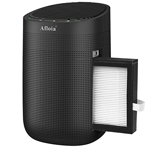 Afloia 1000ml Dehumidifier with Air Purifying Function for home, True HEPA Filter, Auto...