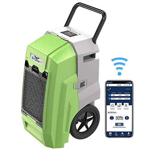 ALORAIR Storm Pro Industrial Commercial Dehumidifier, WiFi Smart 85 PPD Dehumidifier with Pump,...