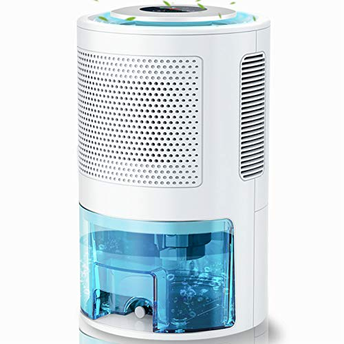 LONOVE Dehumidifiers - Upgraded 5000 Cubic Feet (450 Sq ft) Dehumidifiers for Home Basements Room Bedroom Bathroom Closet RV, 2000ml (68oz) Quiet Auto-off Large Dehumidifiers with Drain Hose