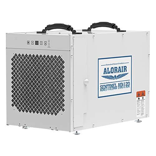 AlorAir Sentinel HDi120 Whole House Dehumidifier, 120 Pints at AHAM, up to 3,300 sq. ft. Basement Dehumidifier with a Pump, Crawl Space Dehumidifying