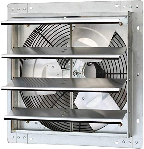 """iLiving - 16"""" Wall Mounted Exhaust Fan - Automatic..."""