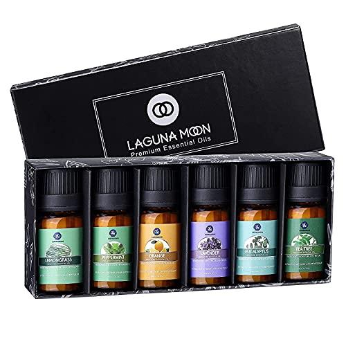 Lagunamoon Essential Oils Top 6 Gift Set Pure...