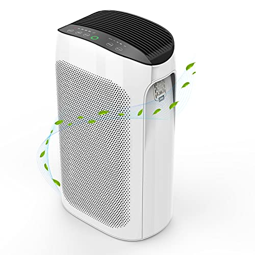 Air Purifier for Home Large Room up to 495 ft² ,...