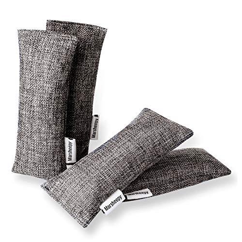 Marsheepy 12 Pack Charcoal Shoe Deodorizer Bags,...