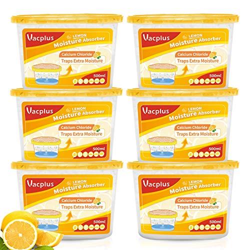 Vacplus Moisture Absorbers (6 pack), 10.5Oz...