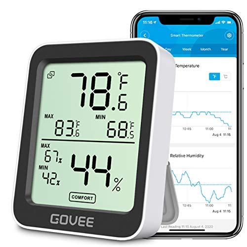 Govee Bluetooth Indoor Hygrometer Thermometer,...