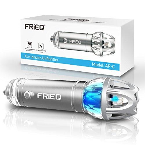 FRiEQ Car Air Purifier, Car Air Freshener and...