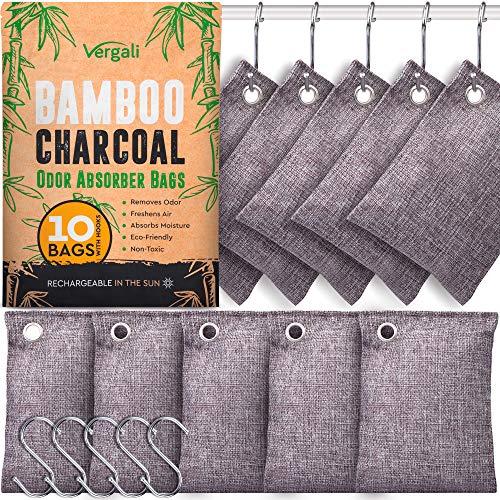 Nature Fresh Bamboo Charcoal Air Purifying Bags 10...