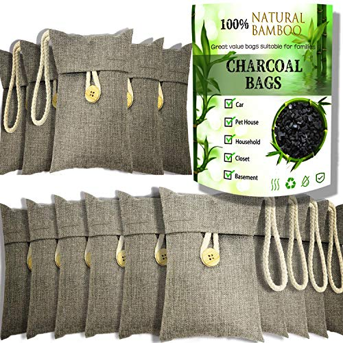 wyewye Activated Bamboo Charcoal Air Purifying...