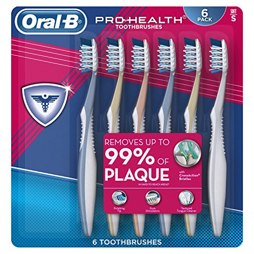 Oral-B Pro Health All In One Soft Toothbrushes, 6...