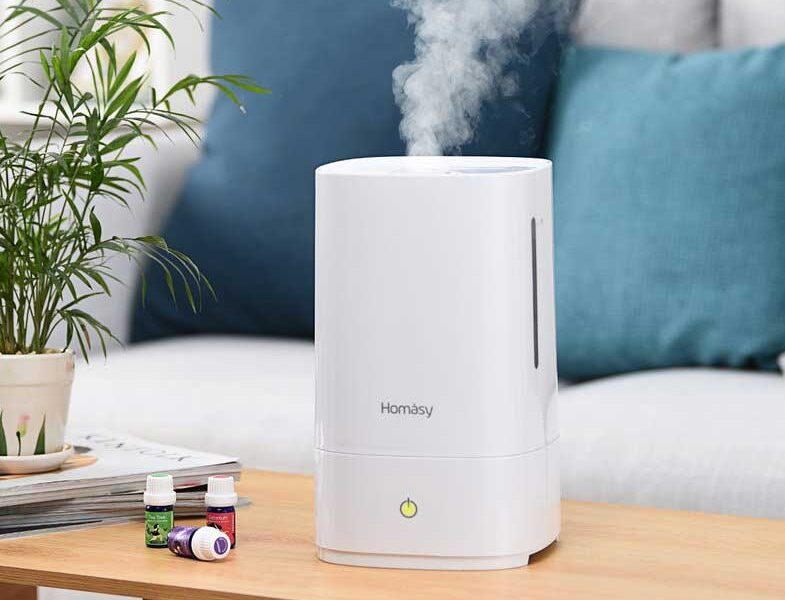 Homasy Cool Mist Humidifier Review 4 5l The Best Humidifier For Bedroom