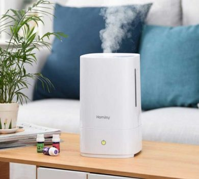 Homasy Cool Mist Humidifier Review