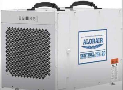AlorAir Sentinel HDi120 Whole House Dehumidifier