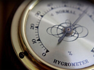 how to read analog hygrometer