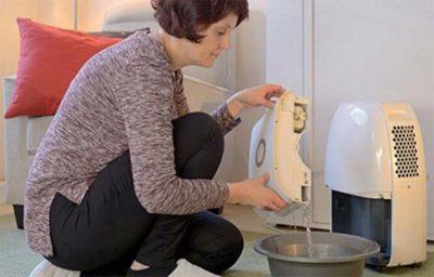 When should you use a dehumidifier