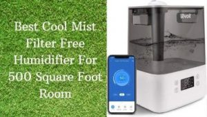 Best Cool Mist Filter Free Humidifier For 500 Square Foot Room