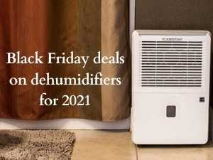 Black Friday deals on dehumidifiers for 2021